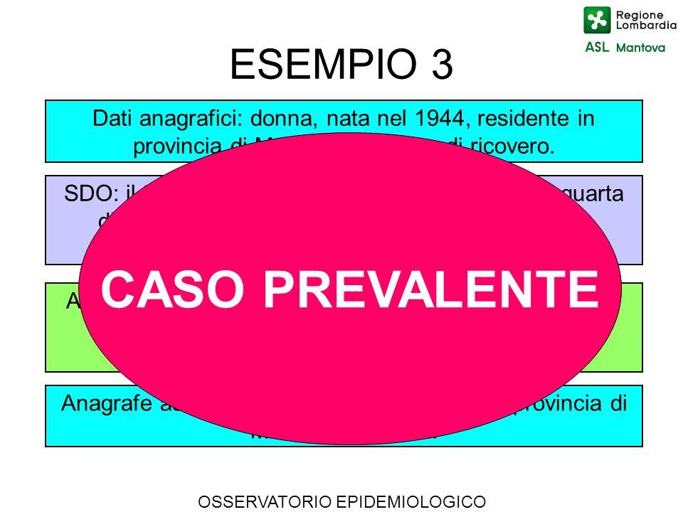 CASO PREVALENTE ESEMPIO 3