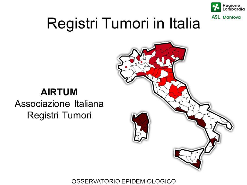 Registri Tumori in Italia