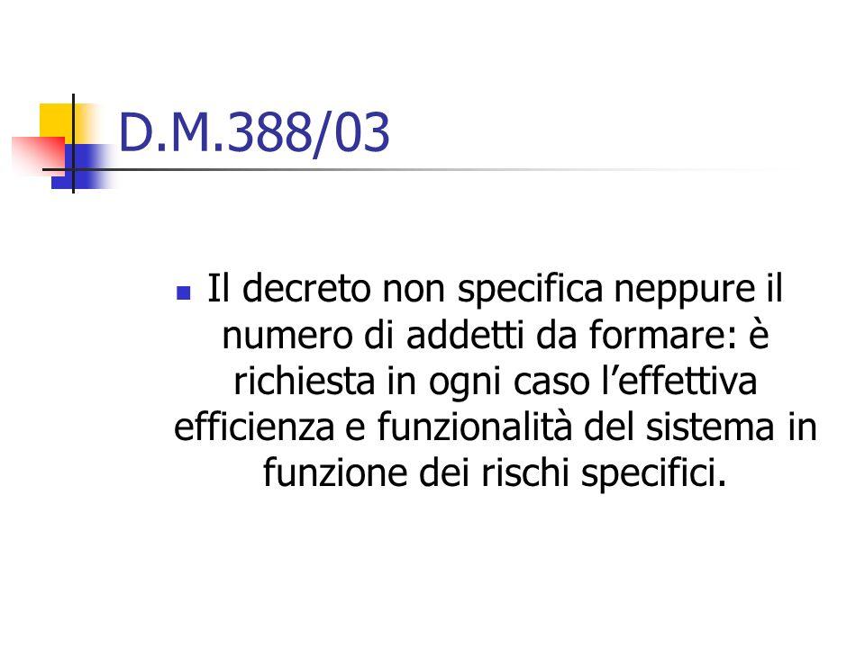 D.M.388/03