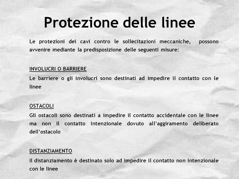 Protezione delle linee