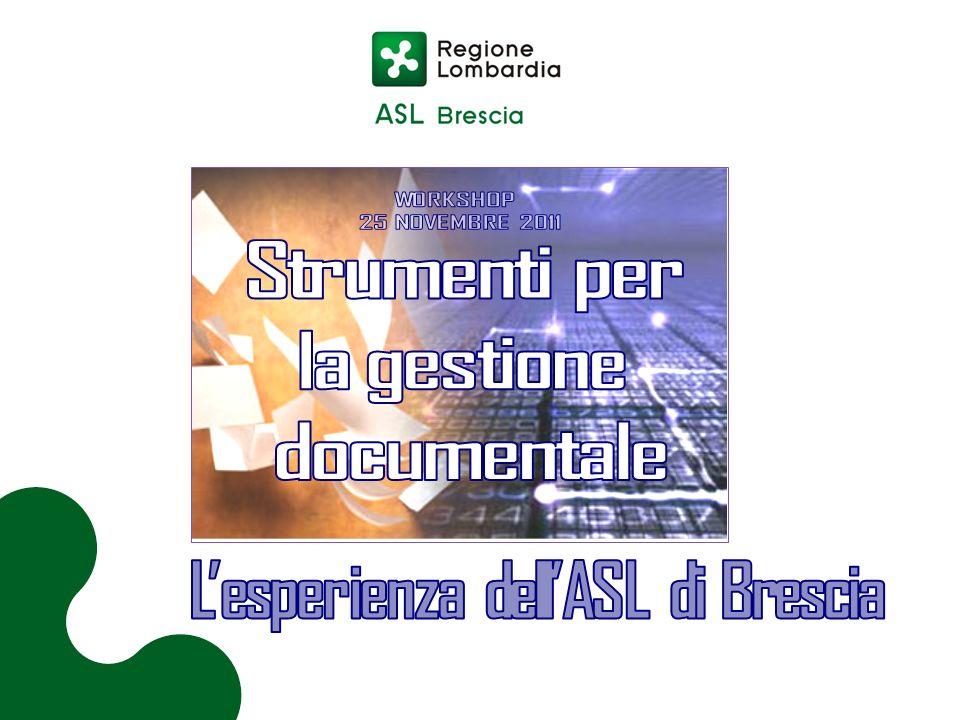 L'esperienza dell'ASL di Brescia