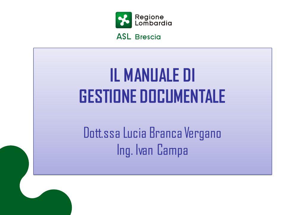 Dott.ssa Lucia Branca Vergano