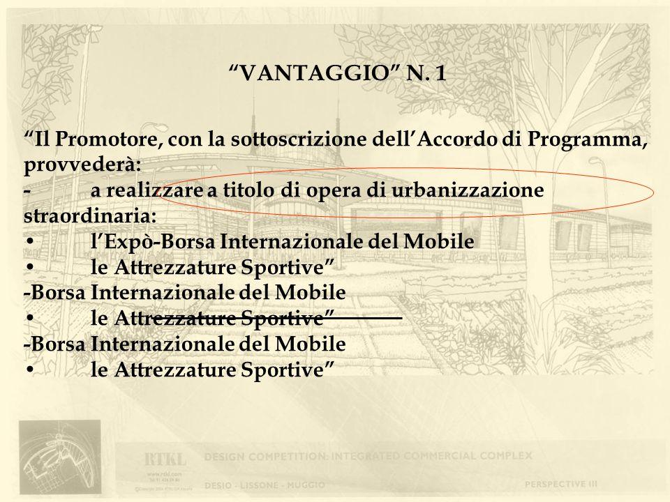 VANTAGGIO N. 1