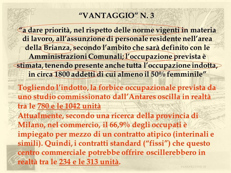 VANTAGGIO N. 3