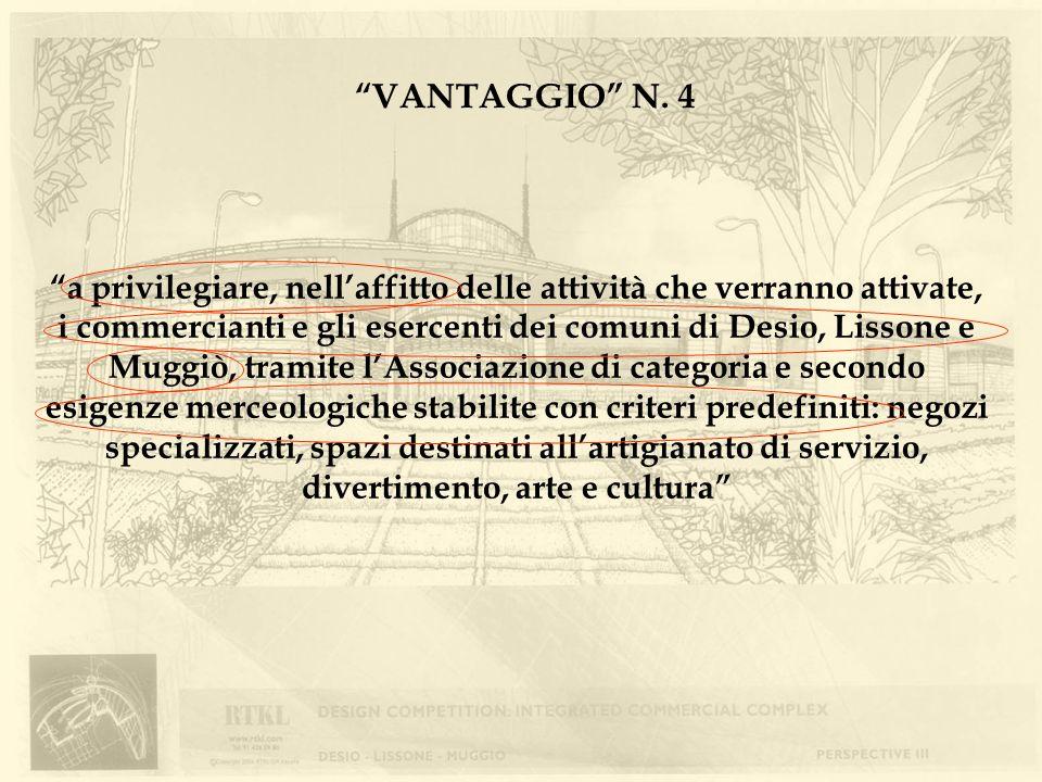 VANTAGGIO N. 4