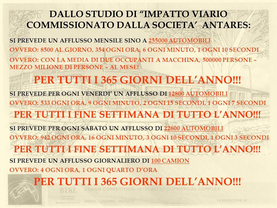 PER TUTTI I 365 GIORNI DELL'ANNO!!!