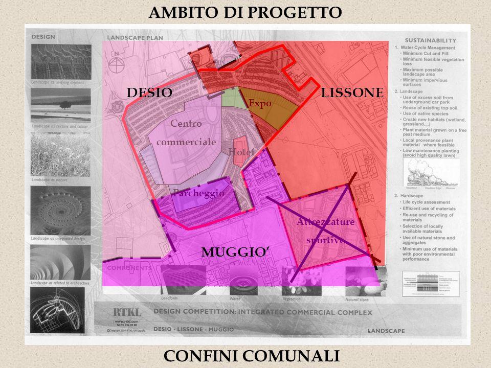 AMBITO DI PROGETTO CONFINI COMUNALI