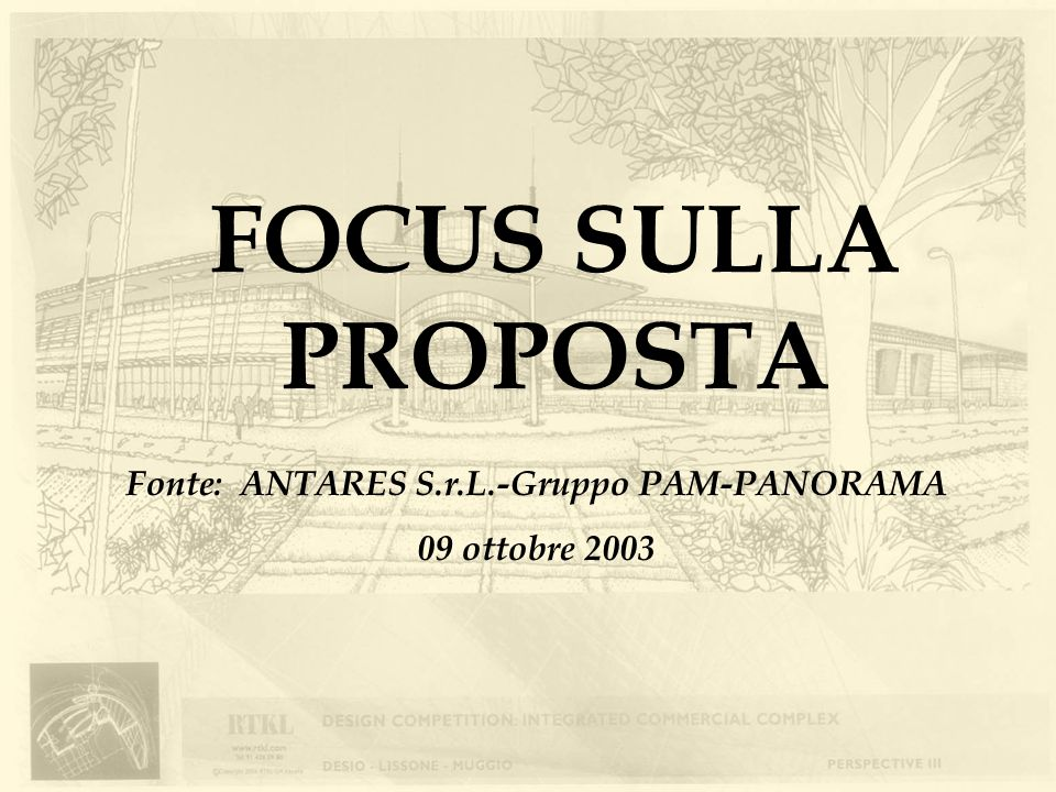 Fonte: ANTARES S.r.L.-Gruppo PAM-PANORAMA
