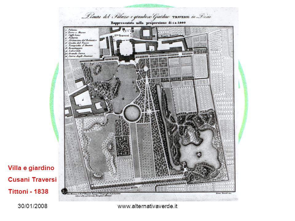 Villa e giardino Cusani Traversi Tittoni - 1838 30/01/2008