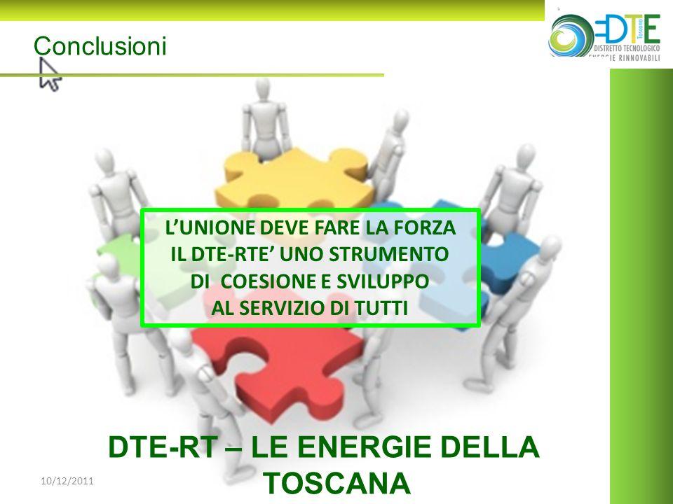 DTE-RT – LE ENERGIE DELLA TOSCANA