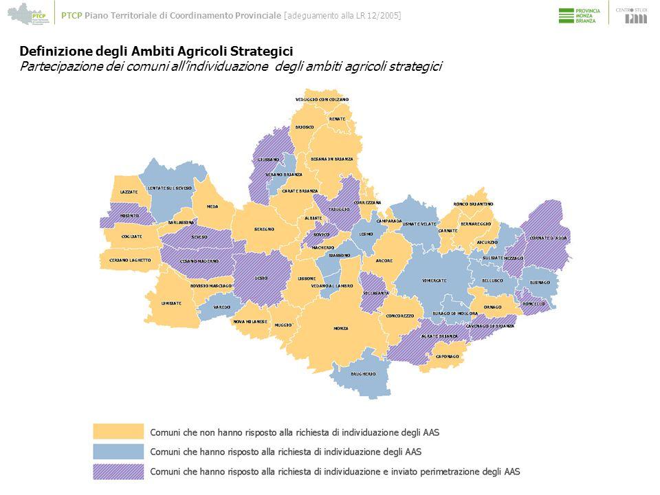 Definizione degli Ambiti Agricoli Strategici