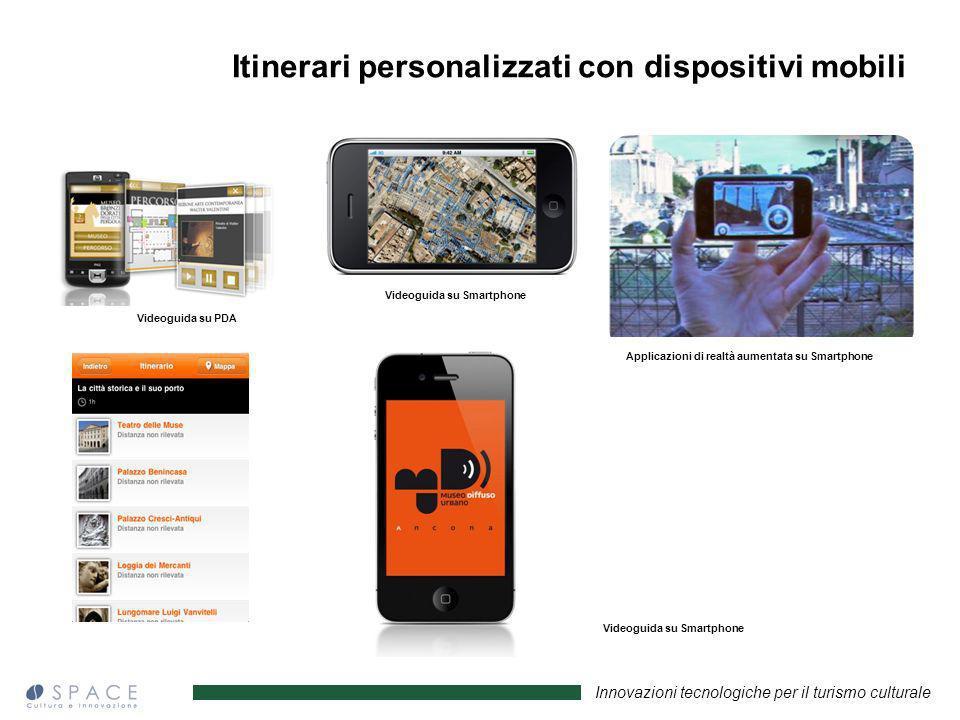 Itinerari personalizzati con dispositivi mobili