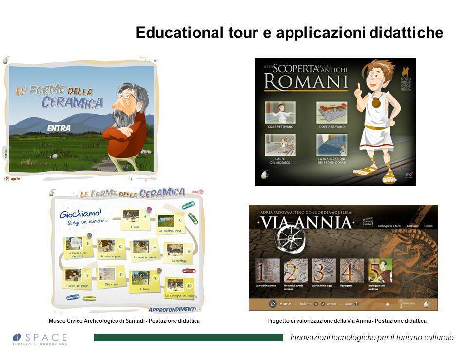 Educational tour e applicazioni didattiche