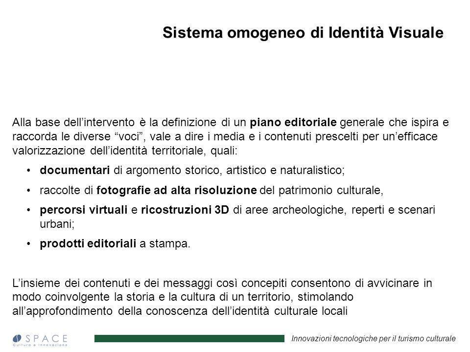 Sistema omogeneo di Identità Visuale