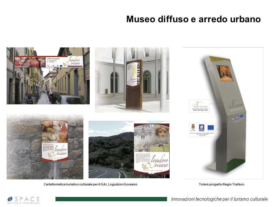 Museo diffuso e arredo urbano