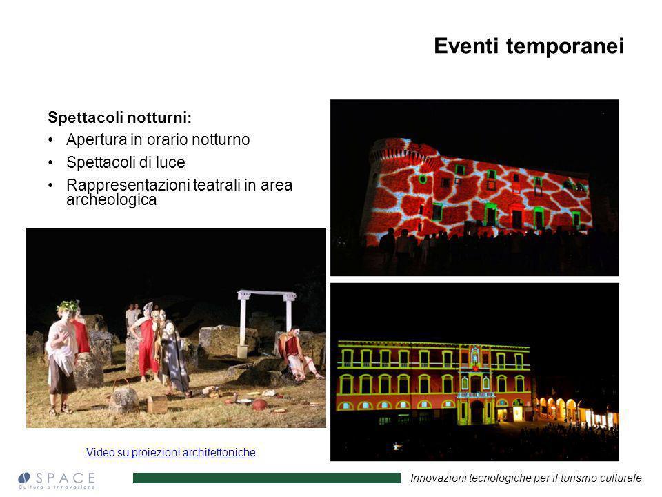 Video su proiezioni architettoniche
