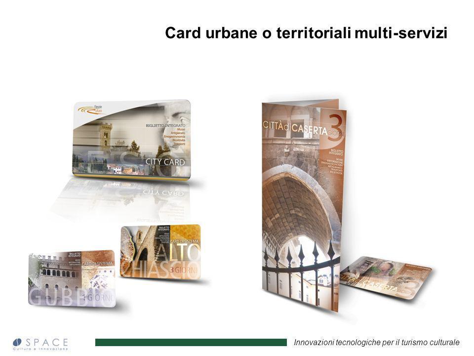 Card urbane o territoriali multi-servizi