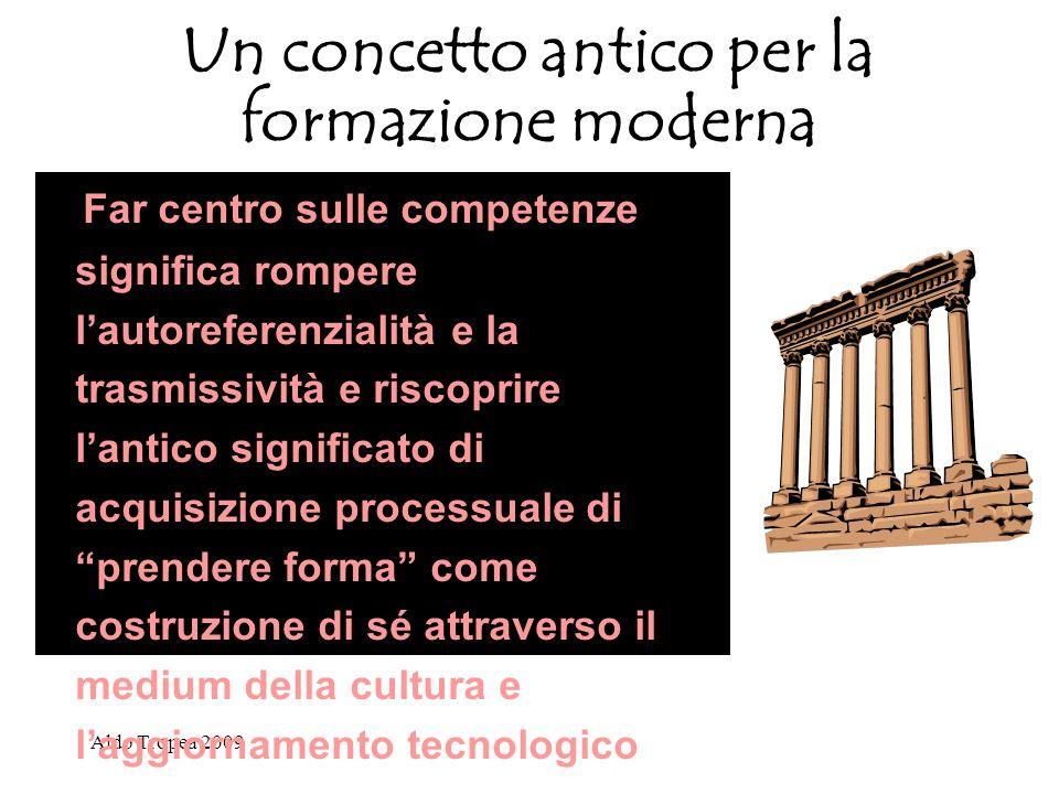 Un concetto antico per la formazione moderna