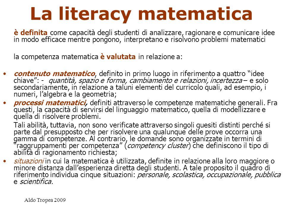 La literacy matematica