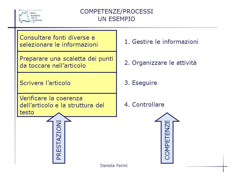 Consultare fonti diverse e selezionare le informazioni