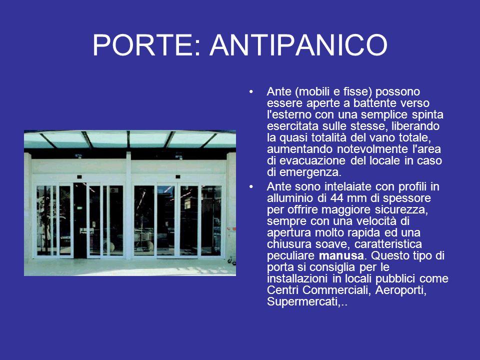 PORTE: ANTIPANICO