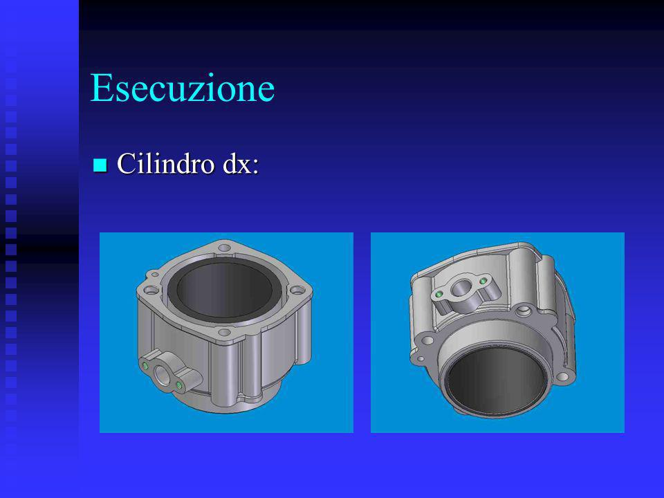 Esecuzione Cilindro dx: