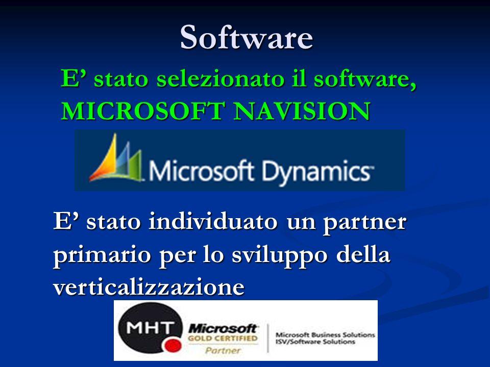E' stato selezionato il software, MICROSOFT NAVISION