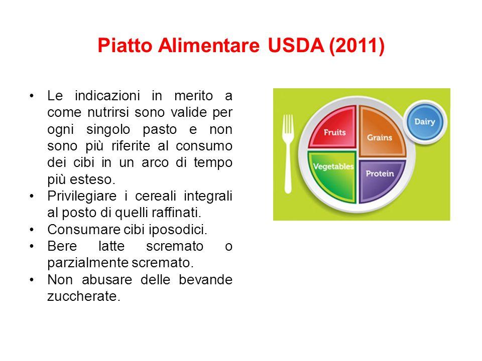 Piatto Alimentare USDA (2011)
