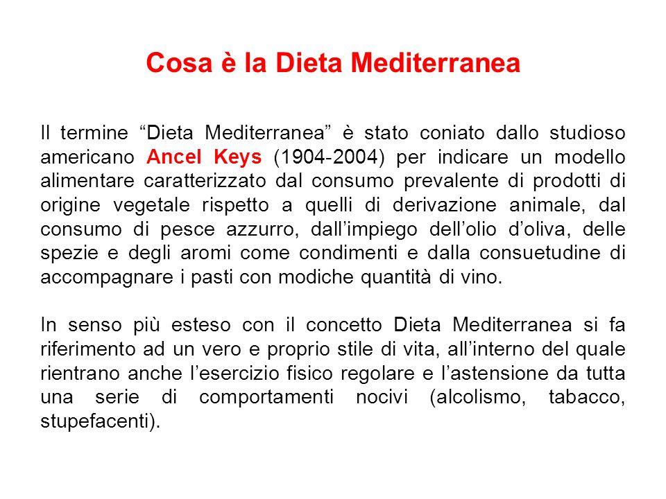 Cosa è la Dieta Mediterranea