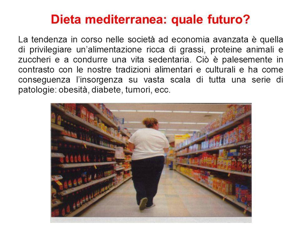 Dieta mediterranea: quale futuro