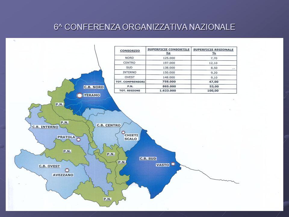 6^ CONFERENZA ORGANIZZATIVA NAZIONALE
