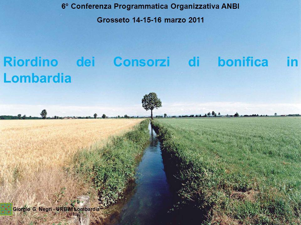 6° Conferenza Programmatica Organizzativa ANBI