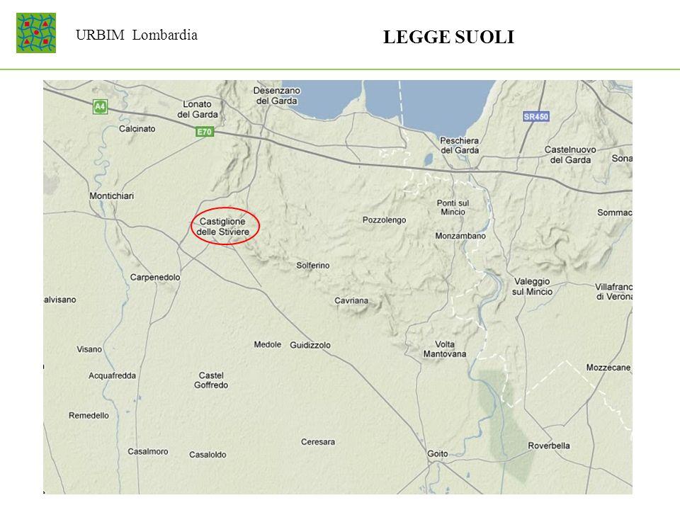 LEGGE SUOLI URBIM Lombardia