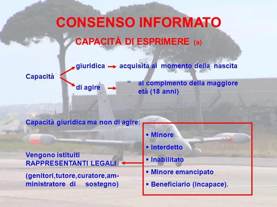CAPACITÀ DI ESPRIMERE (a)