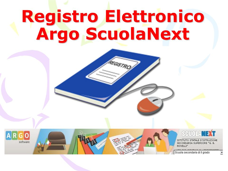 Registro Elettronico Argo ScuolaNext