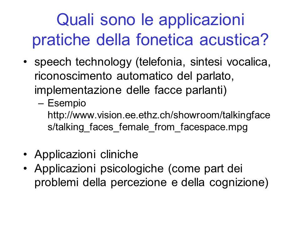 Quali sono le applicazioni pratiche della fonetica acustica