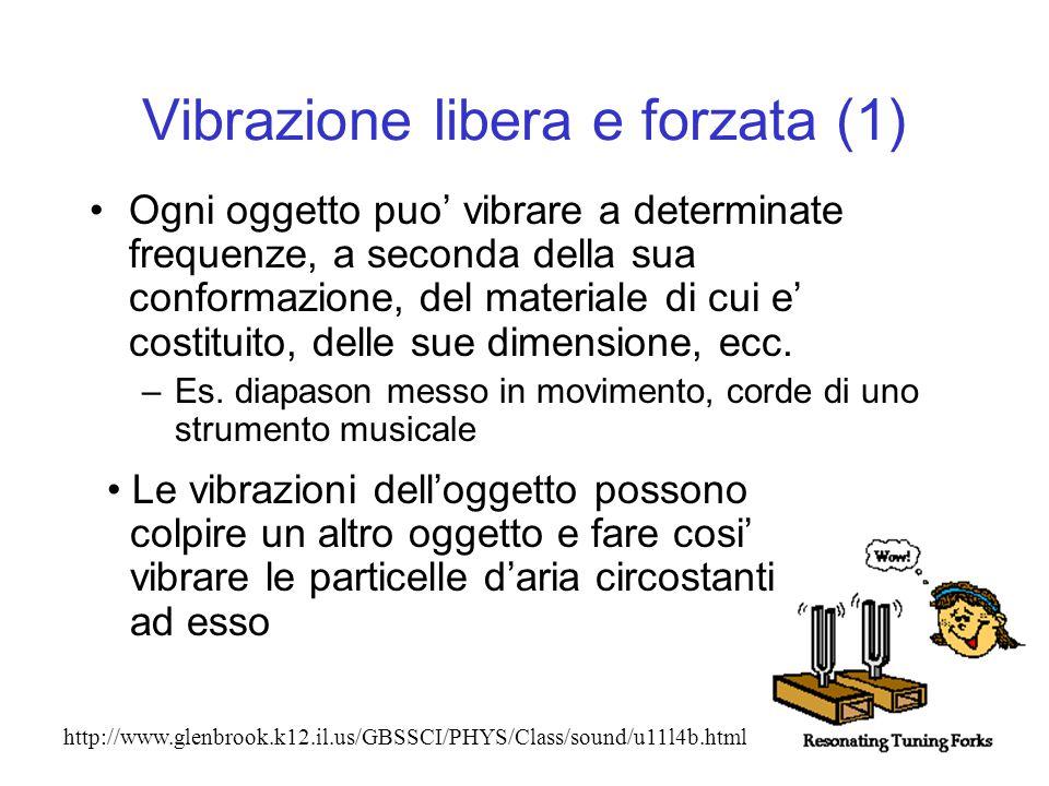 Vibrazione libera e forzata (1)