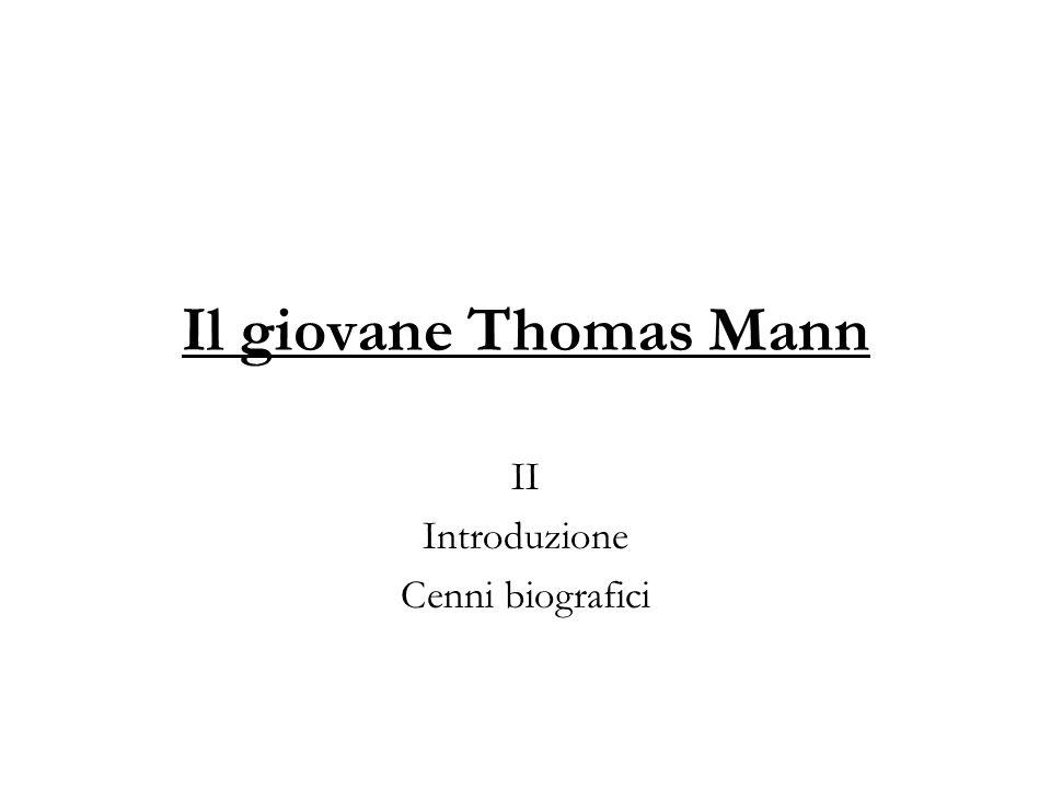 II Introduzione Cenni biografici