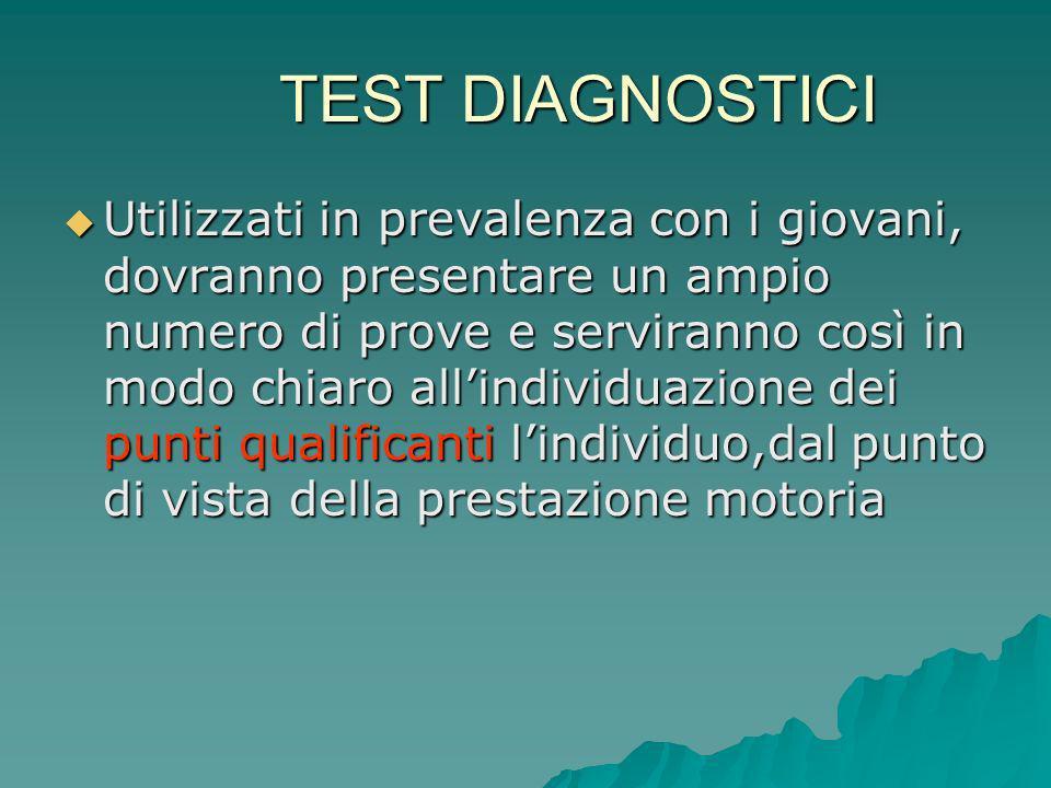 TEST DIAGNOSTICI