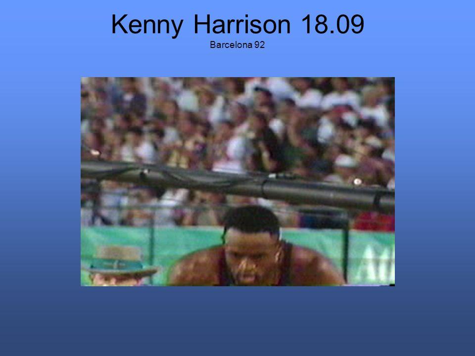 Kenny Harrison 18.09 Barcelona 92