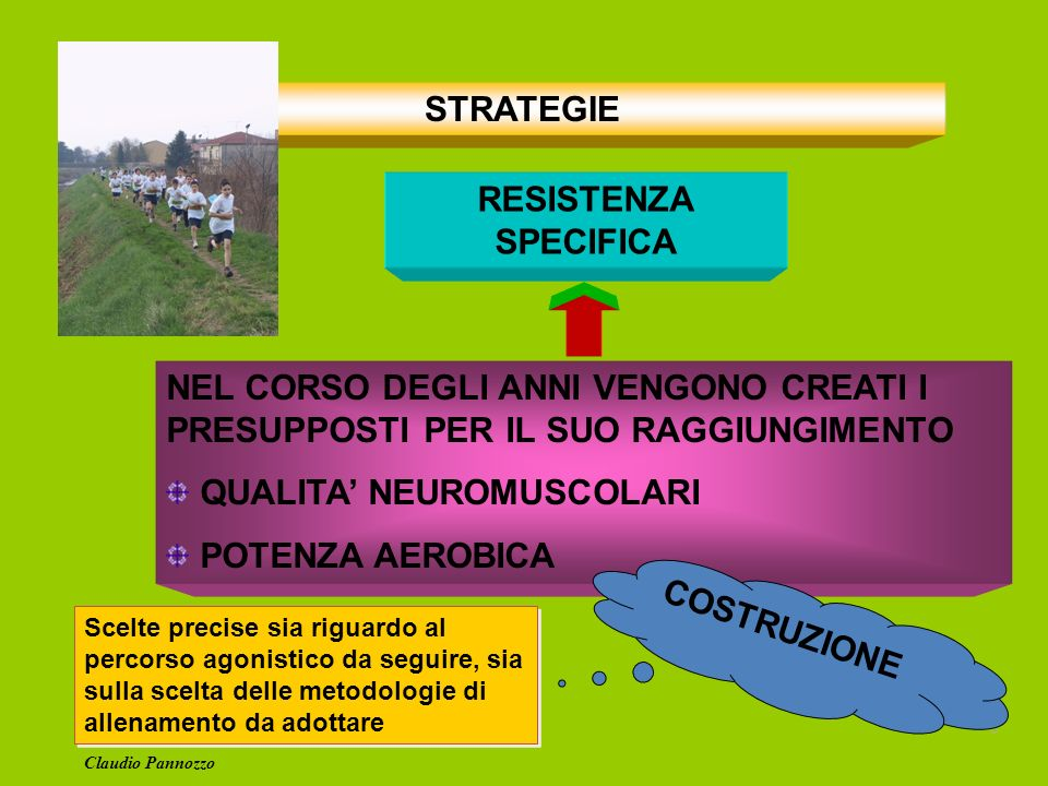 STRATEGIE RESISTENZA SPECIFICA