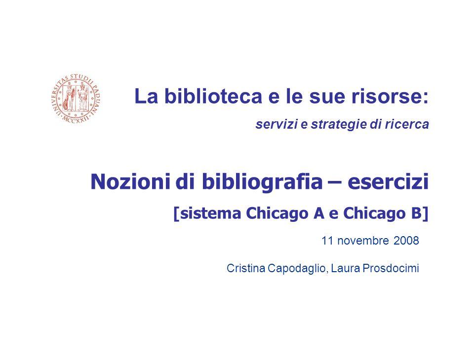 11 novembre 2008 Cristina Capodaglio, Laura Prosdocimi
