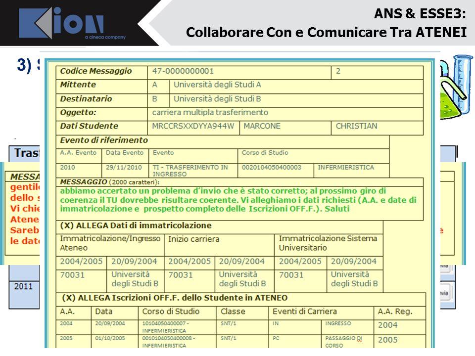 3) Sperimentazioni: collaborazioni con Atenei