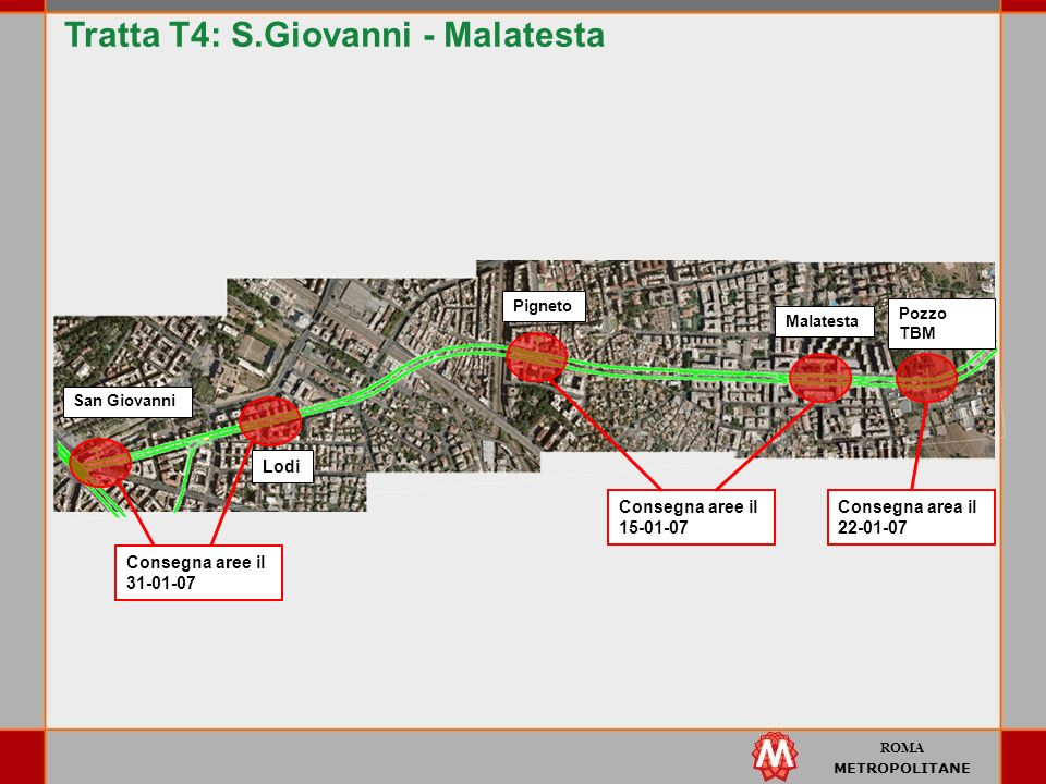 Tratta T4: S.Giovanni - Malatesta