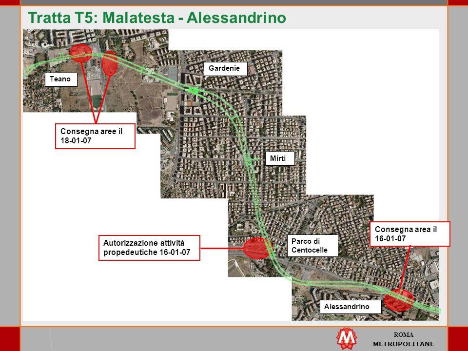 Tratta T5: Malatesta - Alessandrino