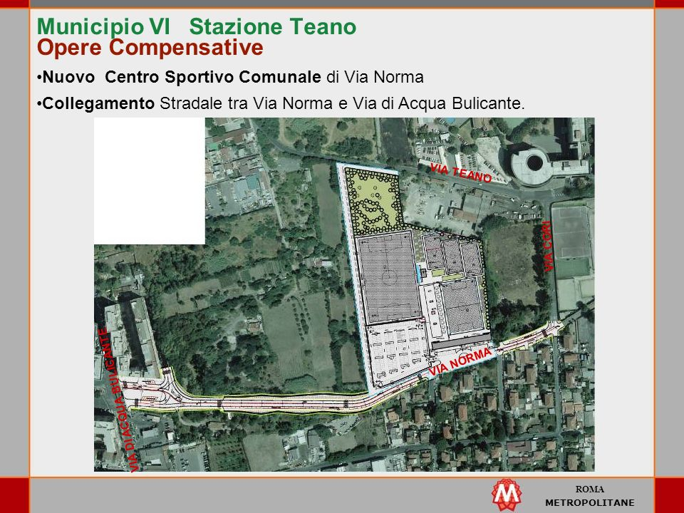 Municipio VI Stazione Teano