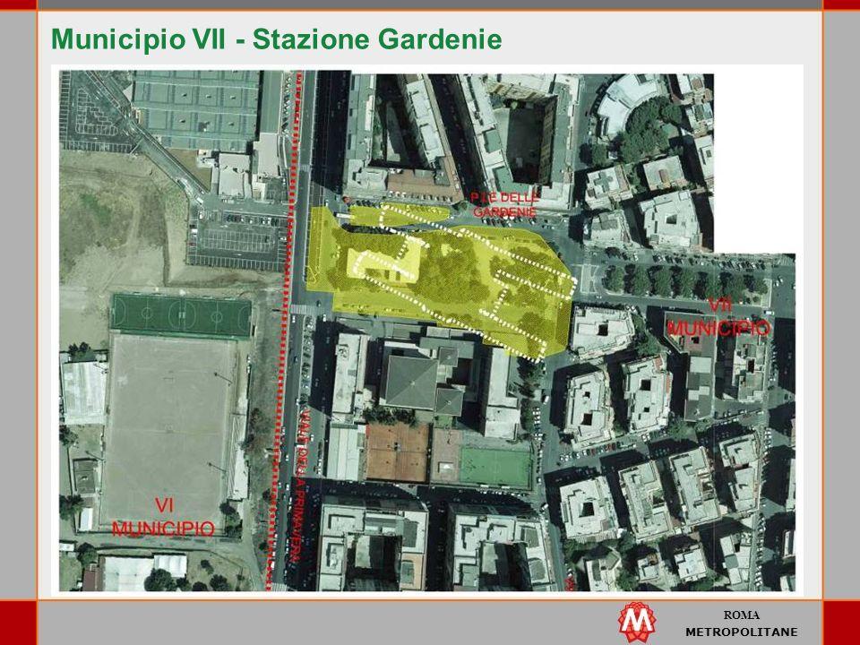 Municipio VII - Stazione Gardenie