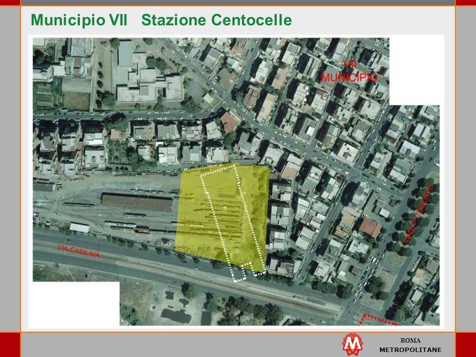 Municipio VII Stazione Centocelle