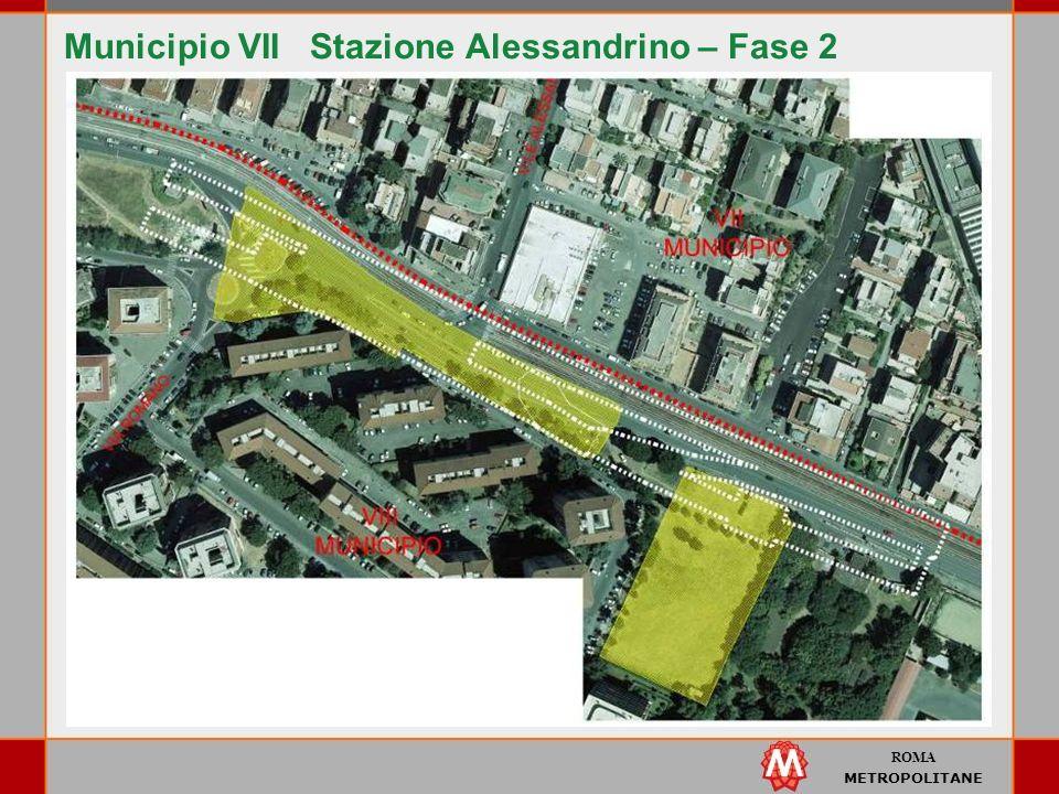Municipio VII Stazione Alessandrino – Fase 2