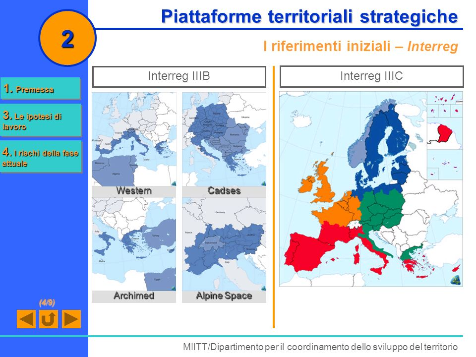 2 Piattaforme territoriali strategiche